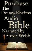Purchase the Douay-Rheims Audio Bible